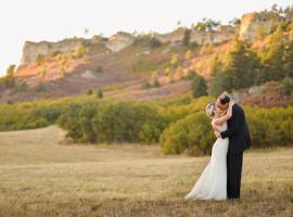 Spruce Mountain Ranch Fall Wedding Photos