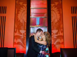 The Cruise Room at Oxford Hotel engagement photos