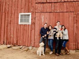 Red Barn Family Photos
