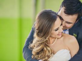 Kristin and John Downton Wedding