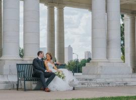 Cheesman Park Wedding Photos