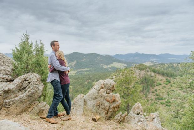 Mount Falcon Engagement Photos