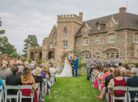 highlands ranch mansion wedding ceremony