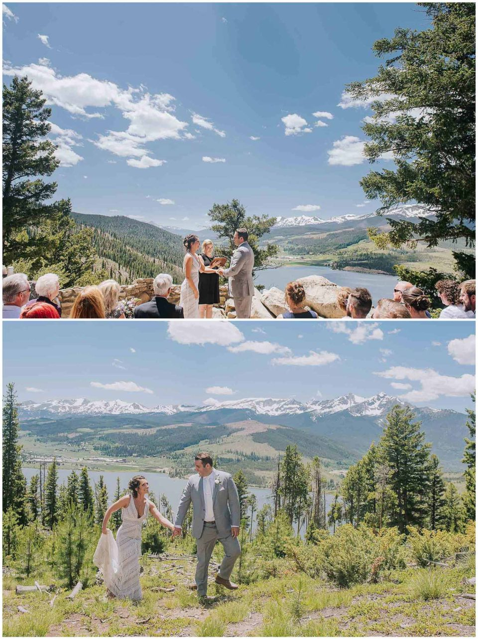 micro wedding at Sapphire Point photographed by Elevate Photography