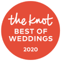 2020 pick for The Knot best of weddings.