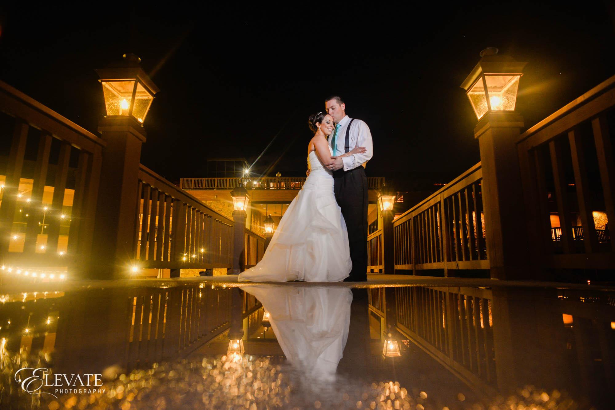 Wedding couple portrait colorado springs