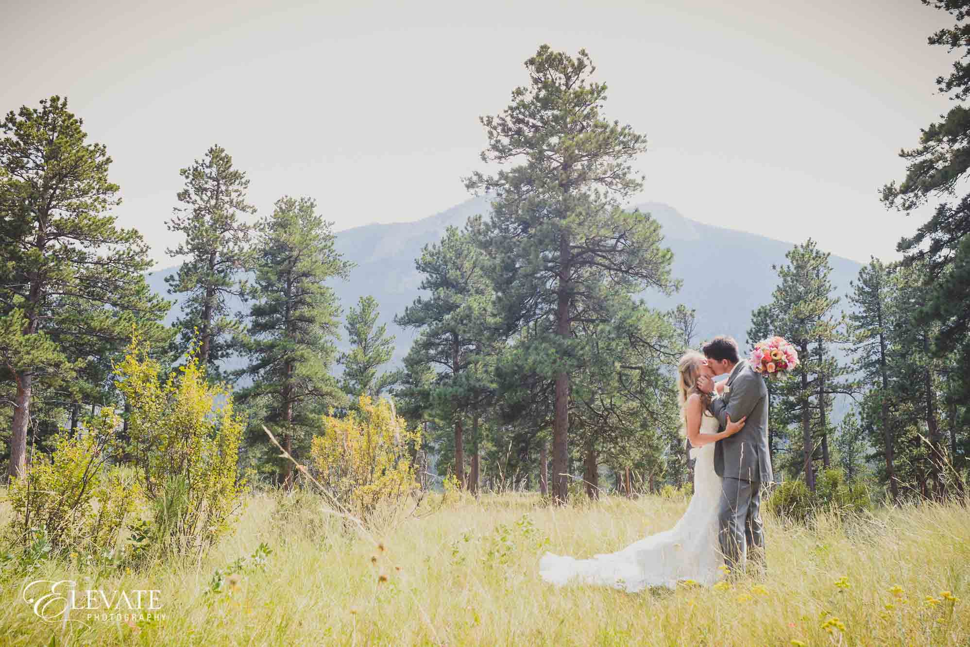 estes park wedding photos della terra