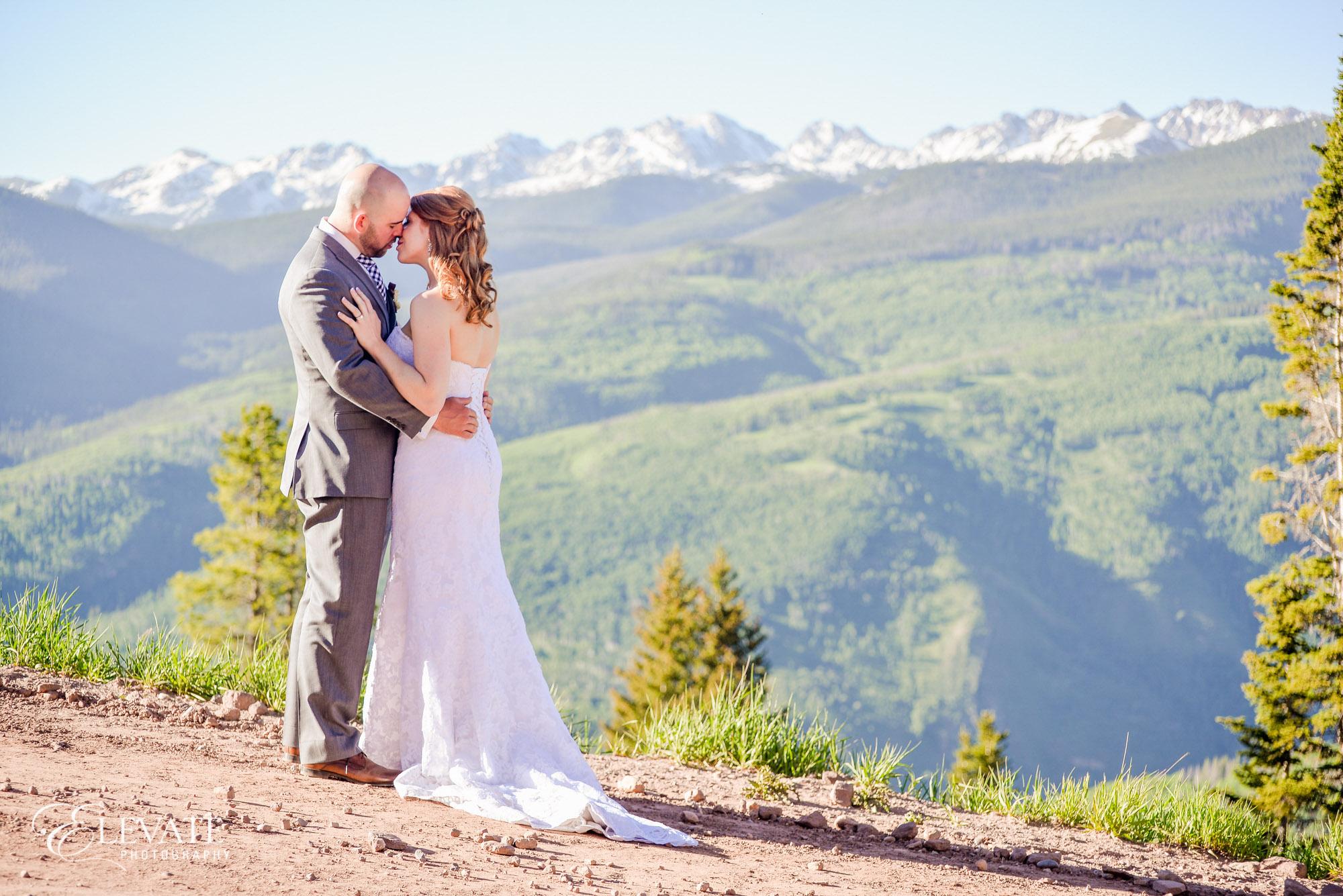 wedding gore range vail