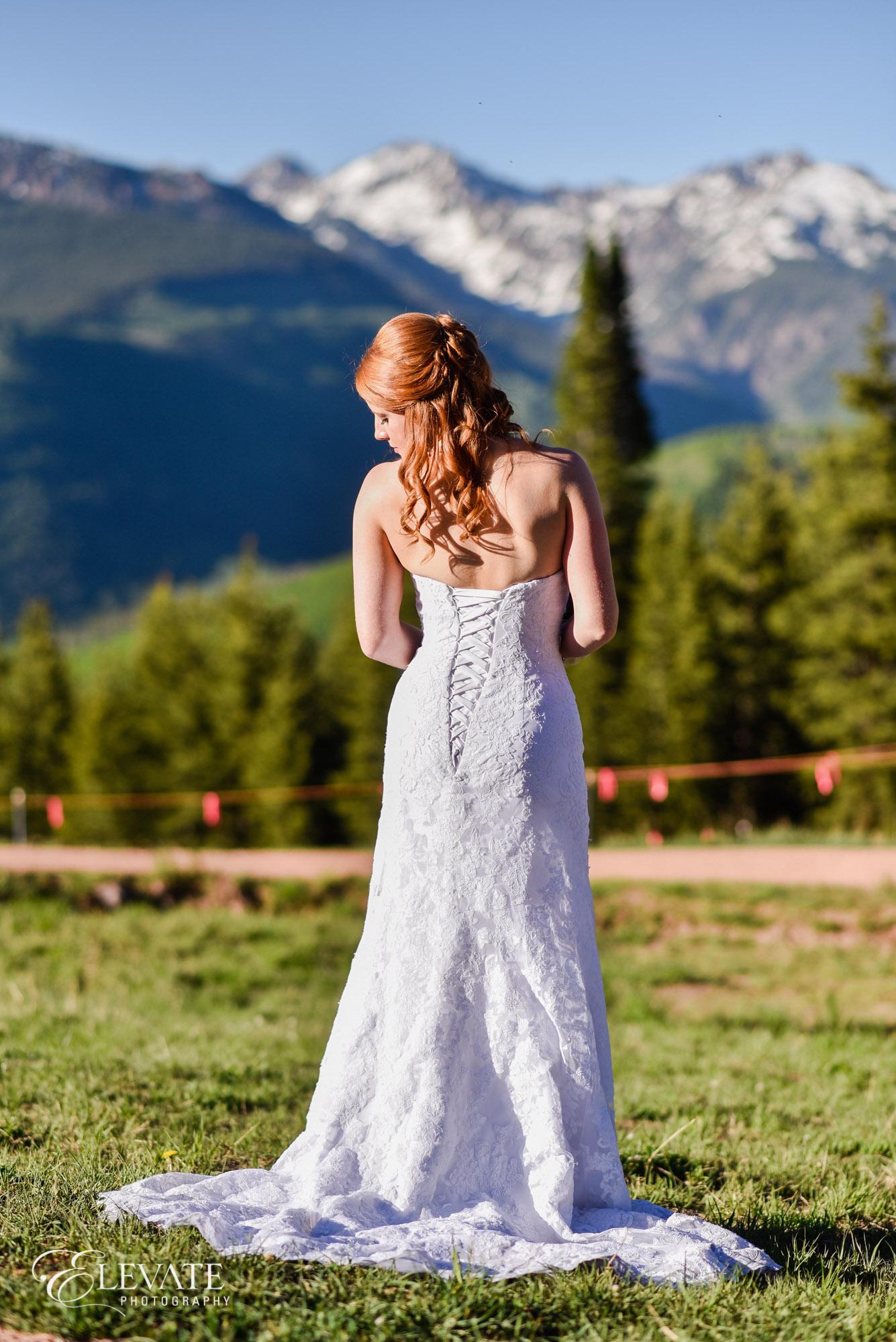 Bride in Vail