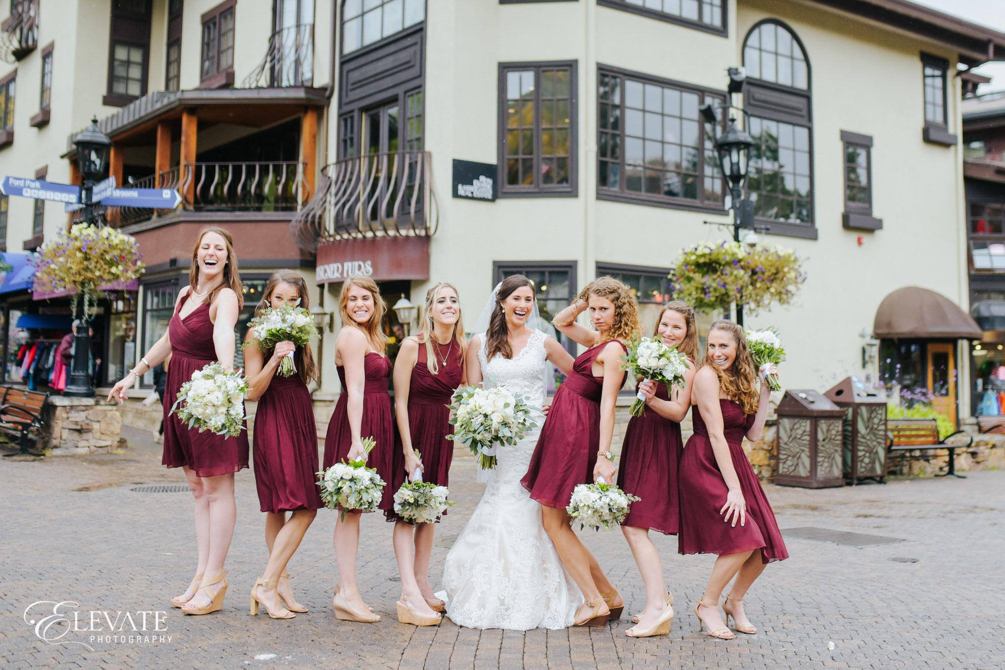 Bridesmaids vail