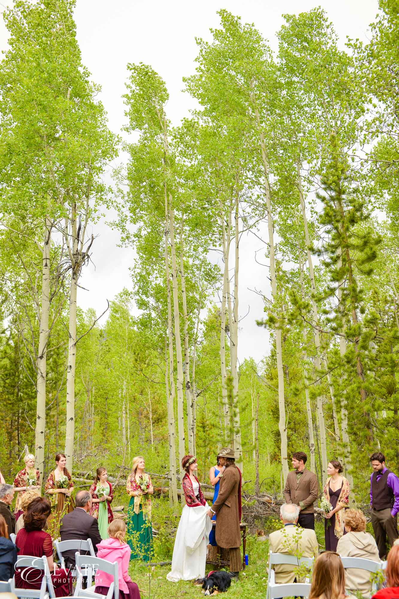 natural wedding ceremony