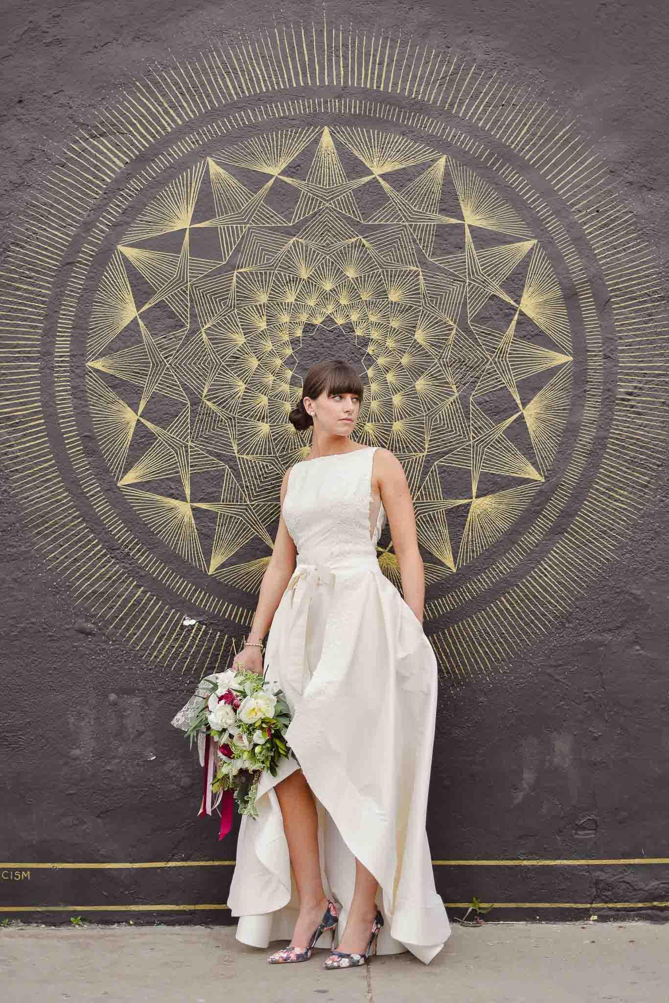 Bride in RiNo district