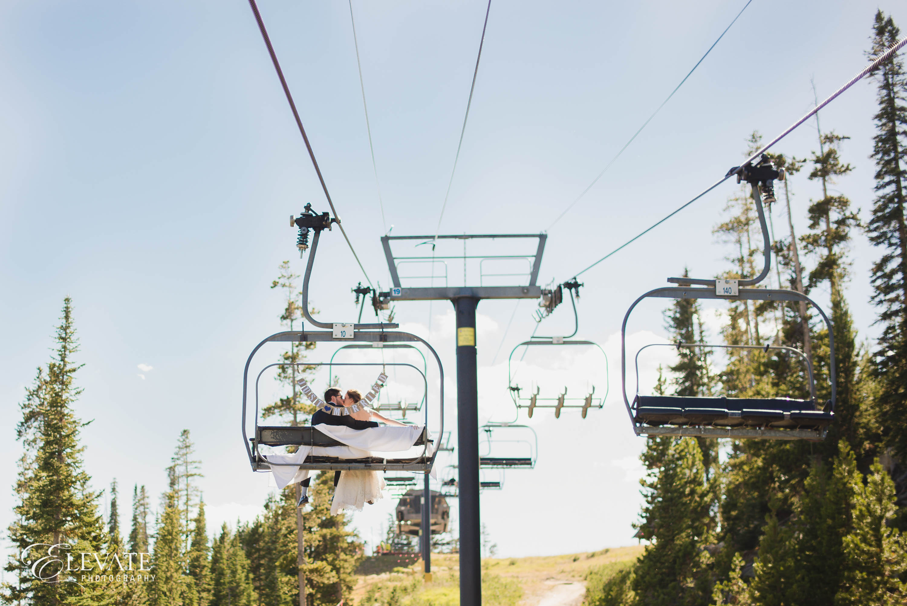 wedding chair lift