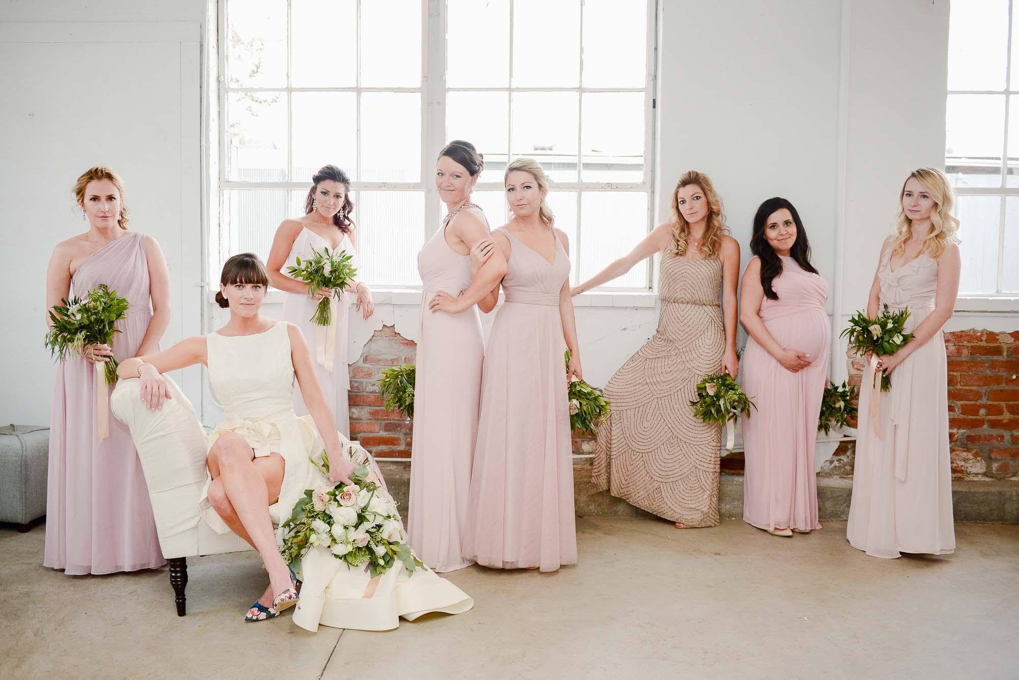 Bridesmaids at Blanc