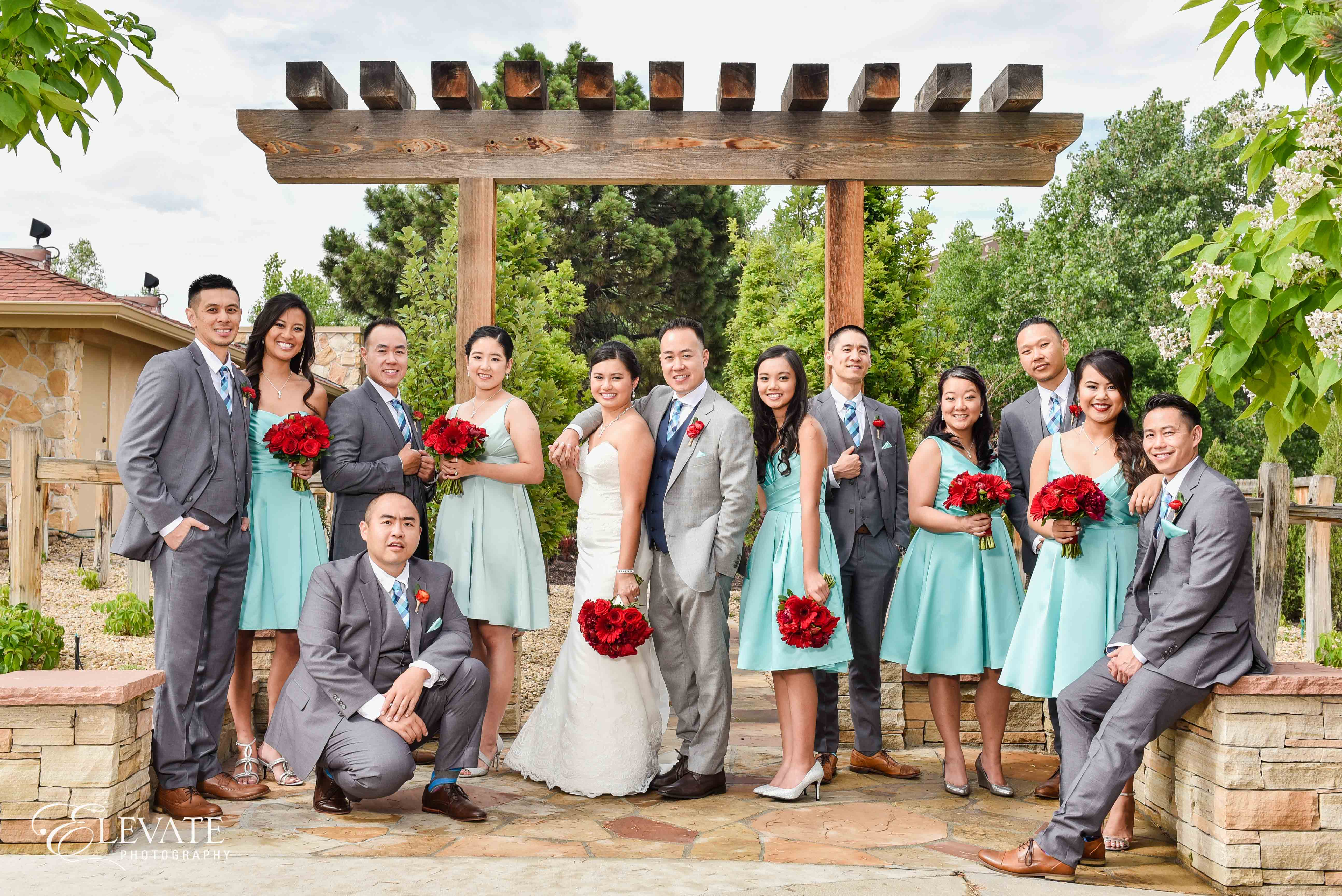 wedding party summer tiffany dress