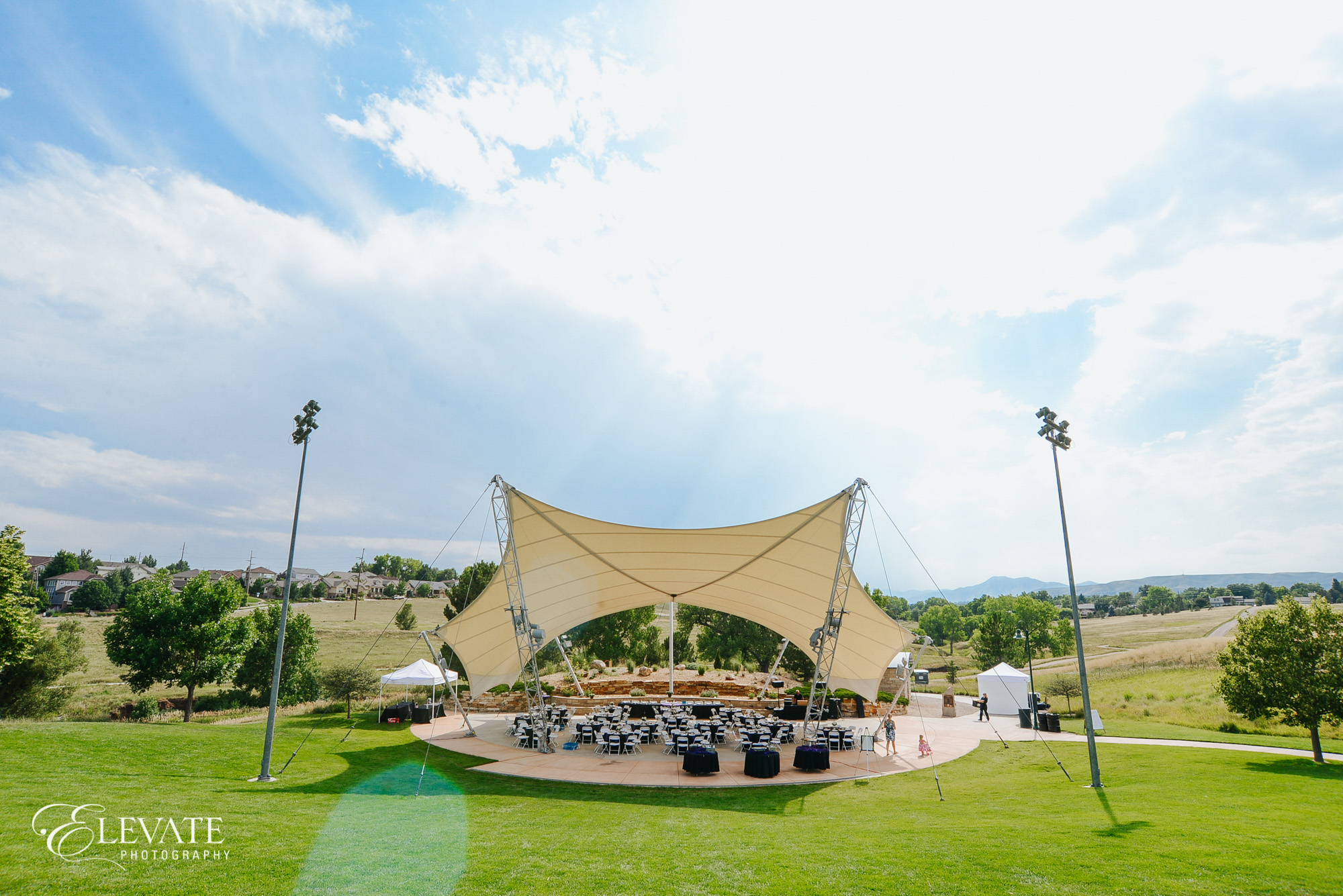 wedding reception pavilion