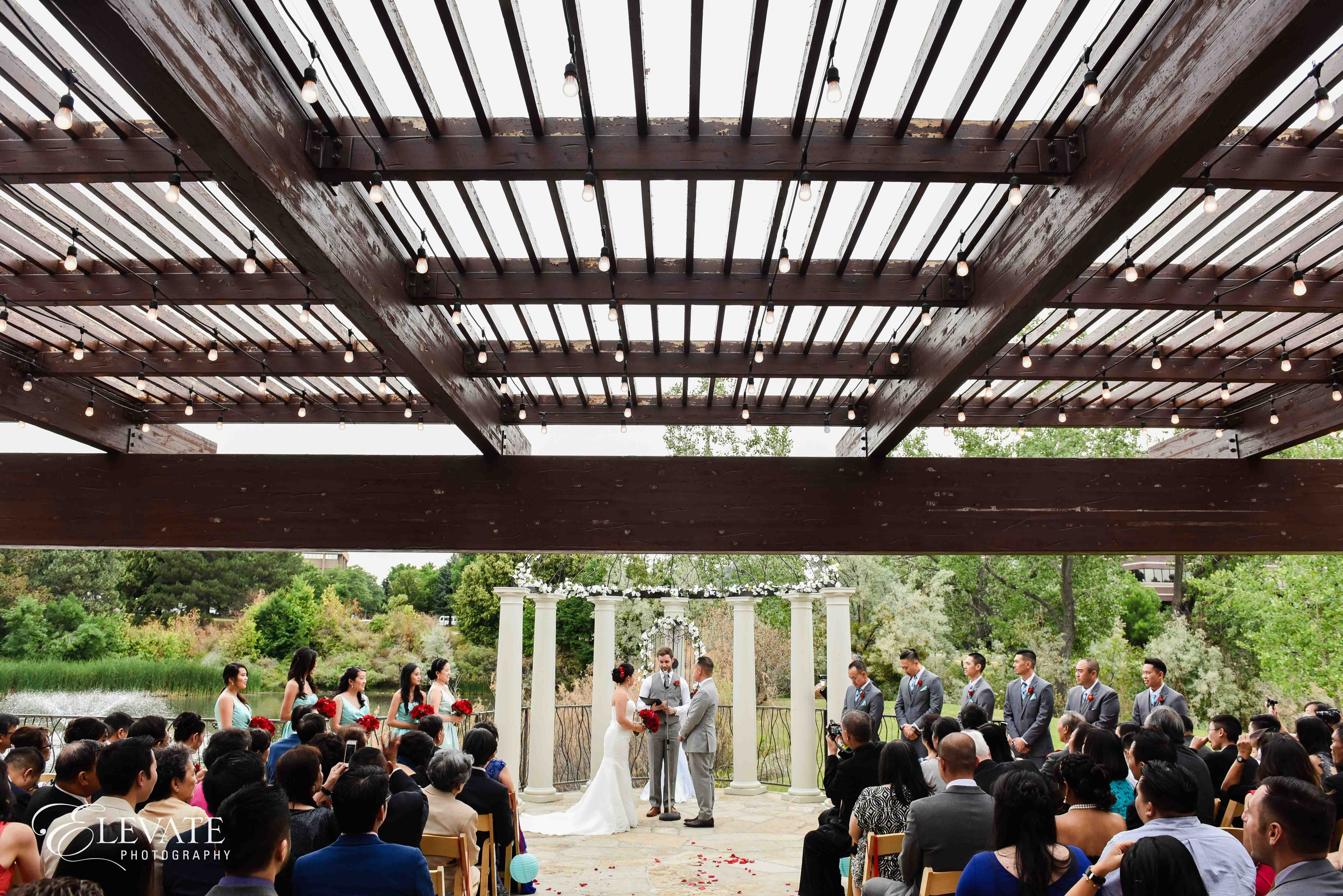 wedding ceremony lakewood