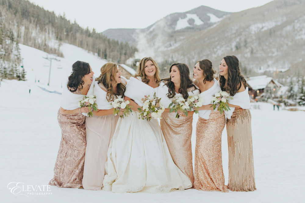 bridesmaids winter