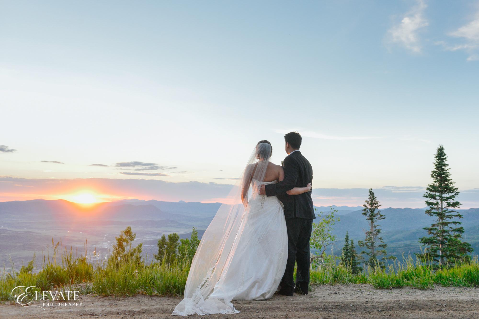 vista overlook steamboat springs wedding