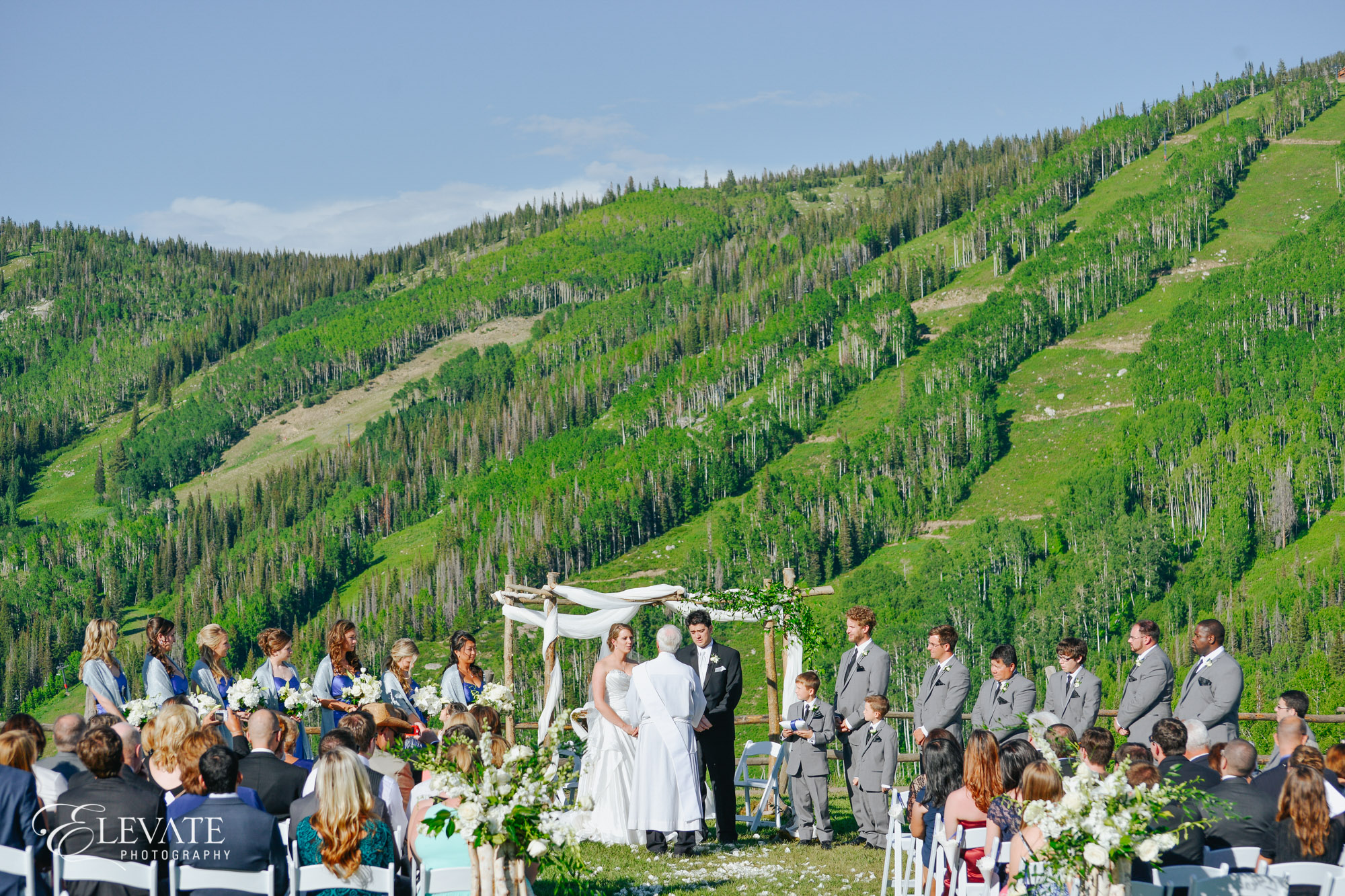 thunderhead lawn ceremony of steamboat springs
