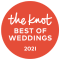 2021 pick for The Knot best of weddings.