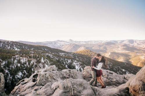 022 Lost Gulch Lookout Engagement Photos-30