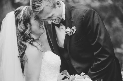 BW bride and groom