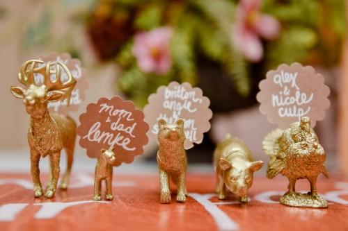 wedding reception place cards