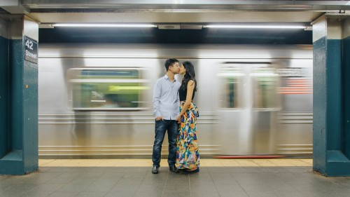 subway engagement new your city