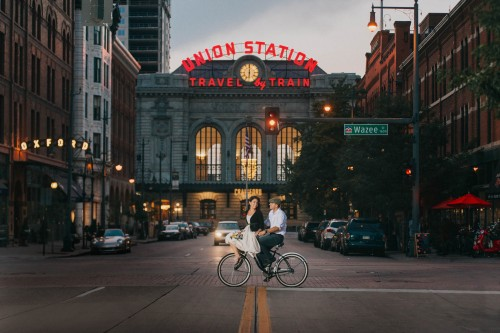 union station classic bicycle
