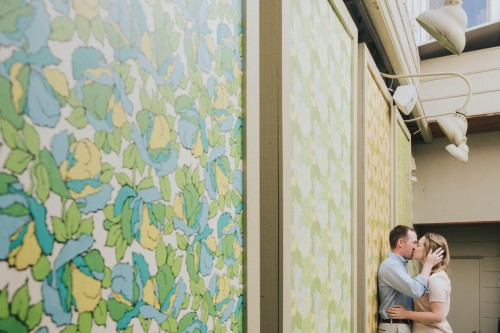 colorful wall art engagement