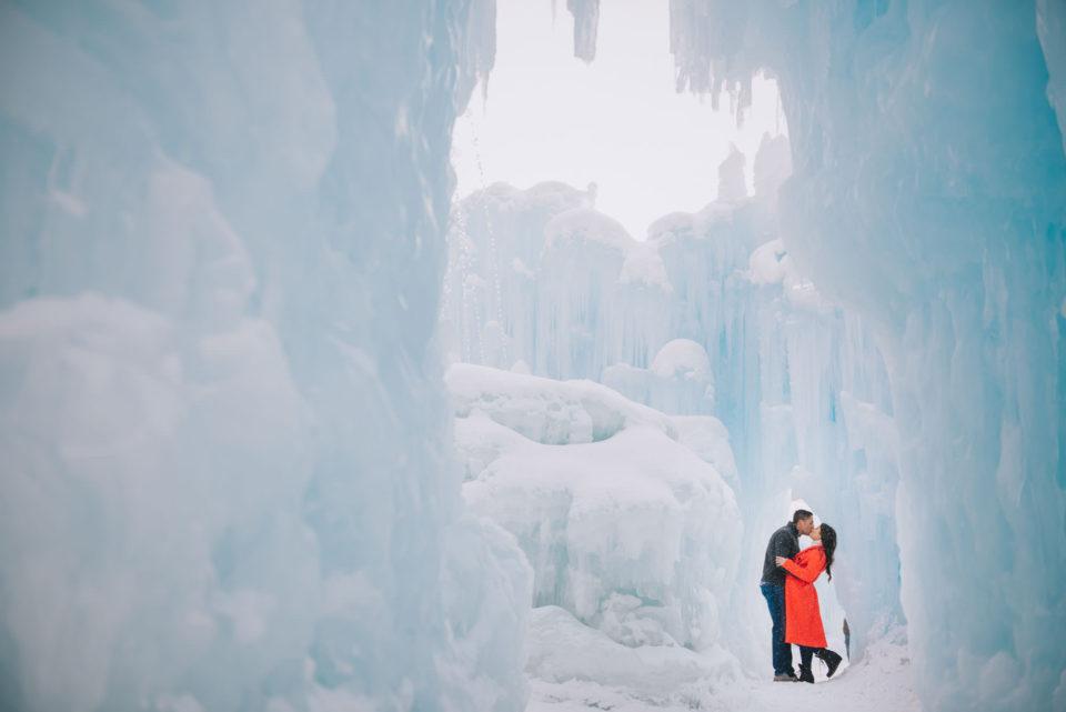ice castle engagement