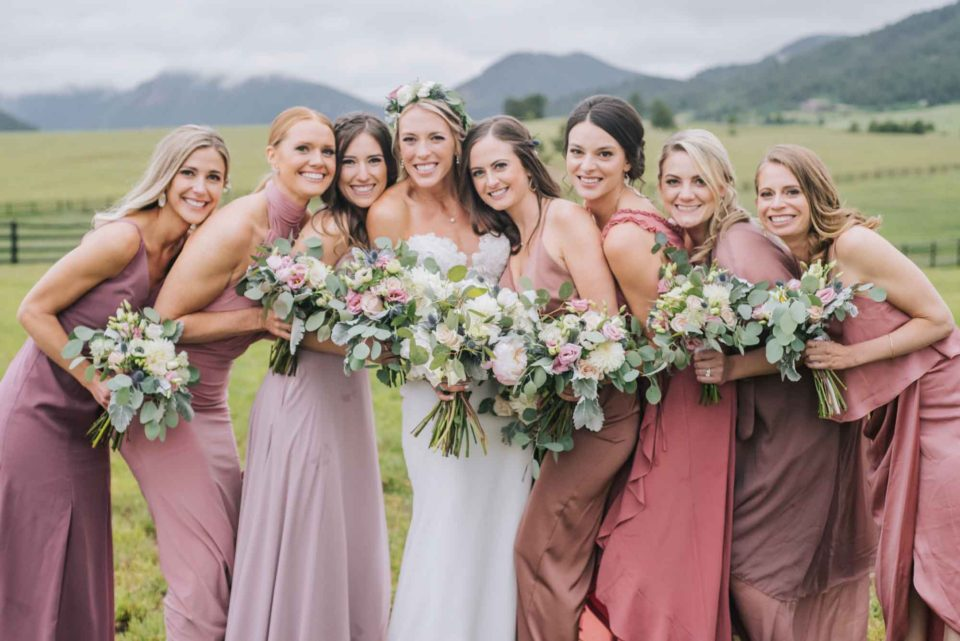 bridal party spruce mountain ranch