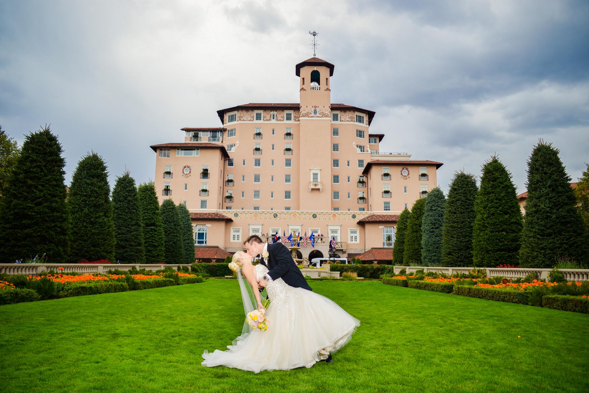 The Broadmoor Colorado Springs Wedding Photos Denver Wedding