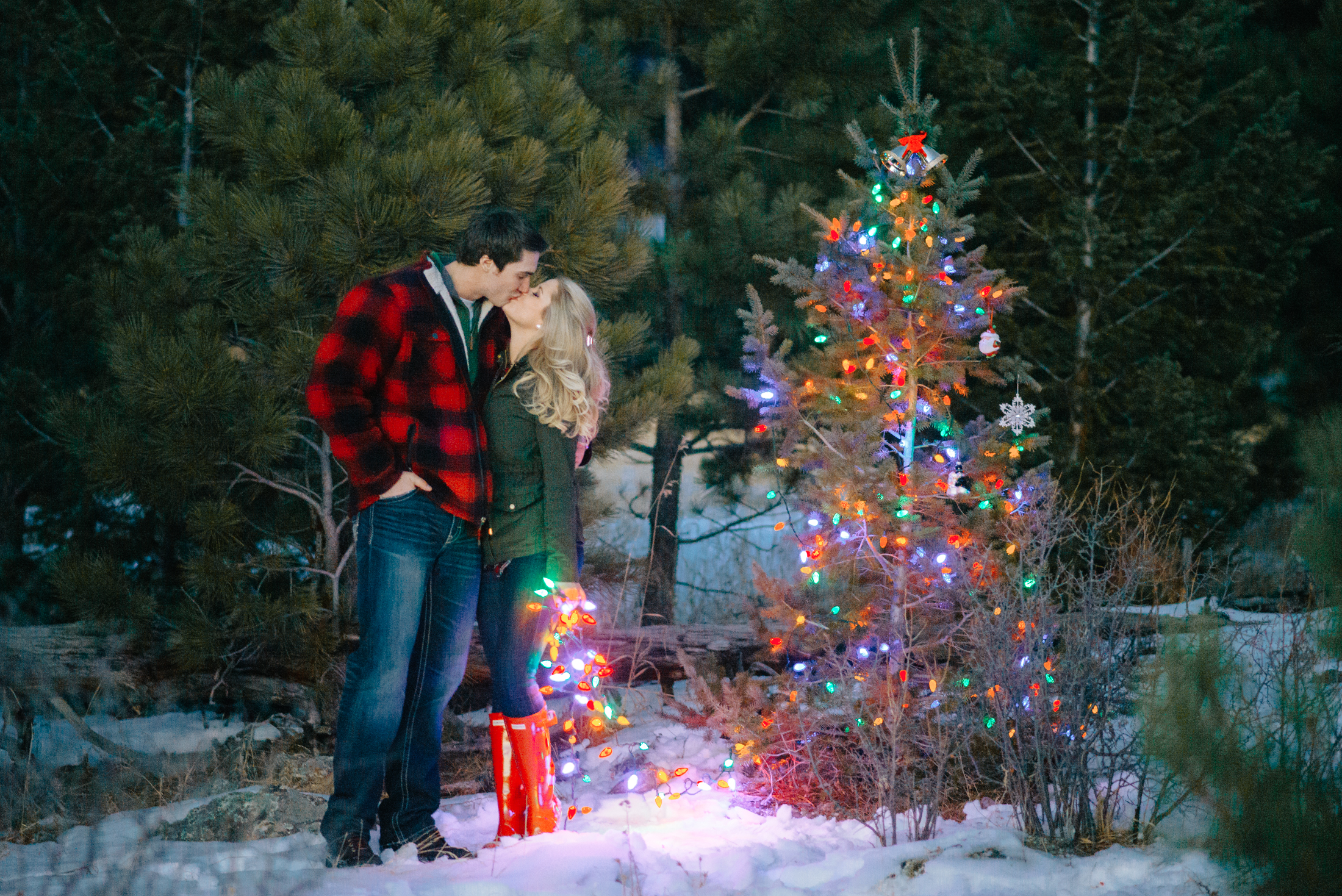 Christmas In The Mountains Engagement