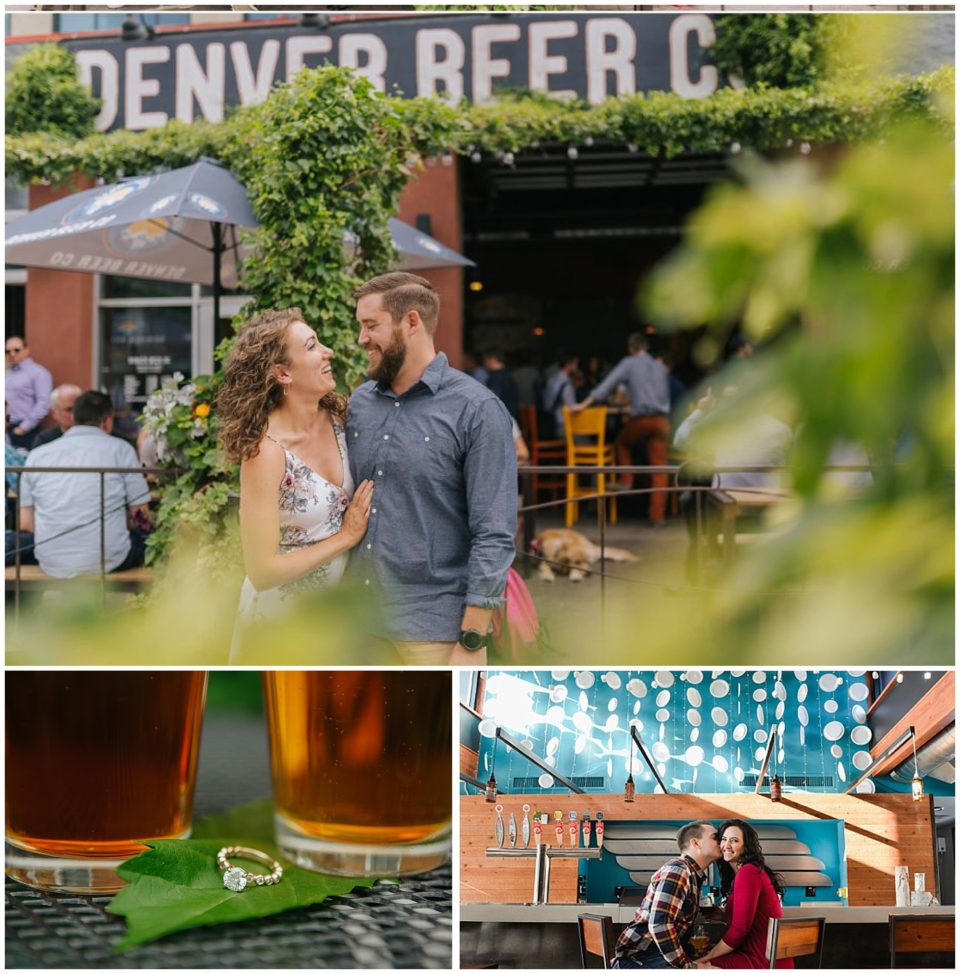 engagement at brewery