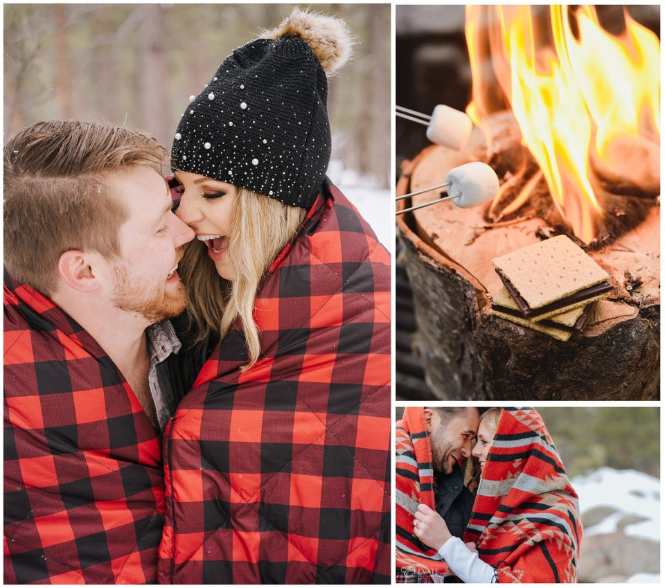 warm winter engagement