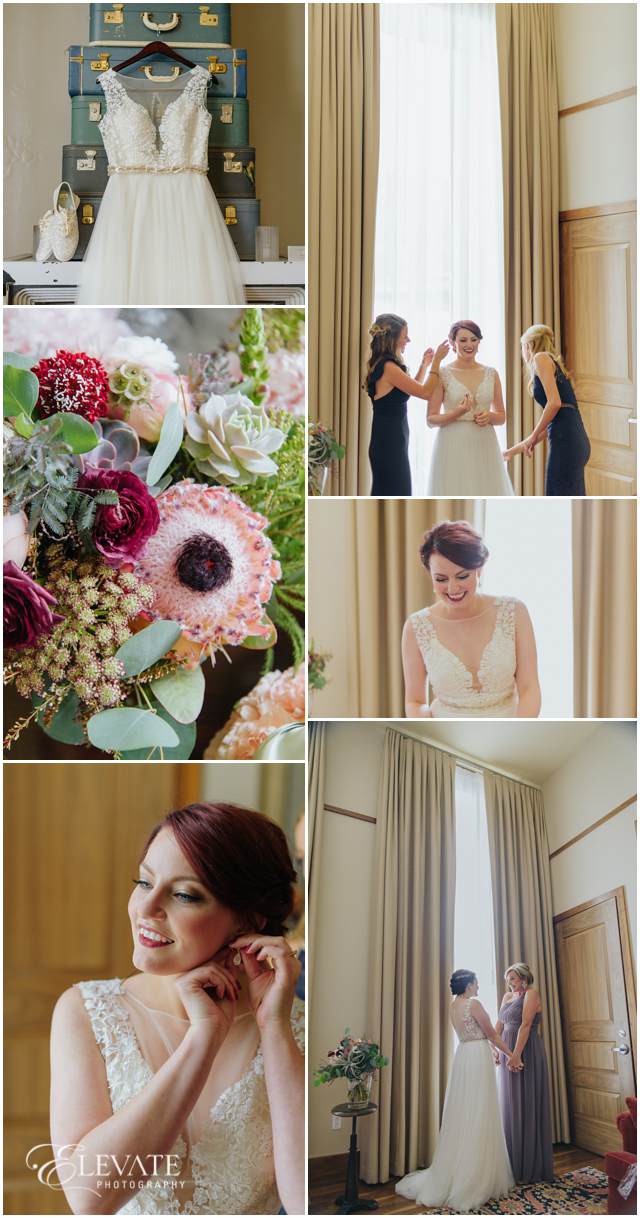 d998fdd14df The Crawford Hotel is such gorgeous spot to get ready on the big day! hotel  teatro wedding photos