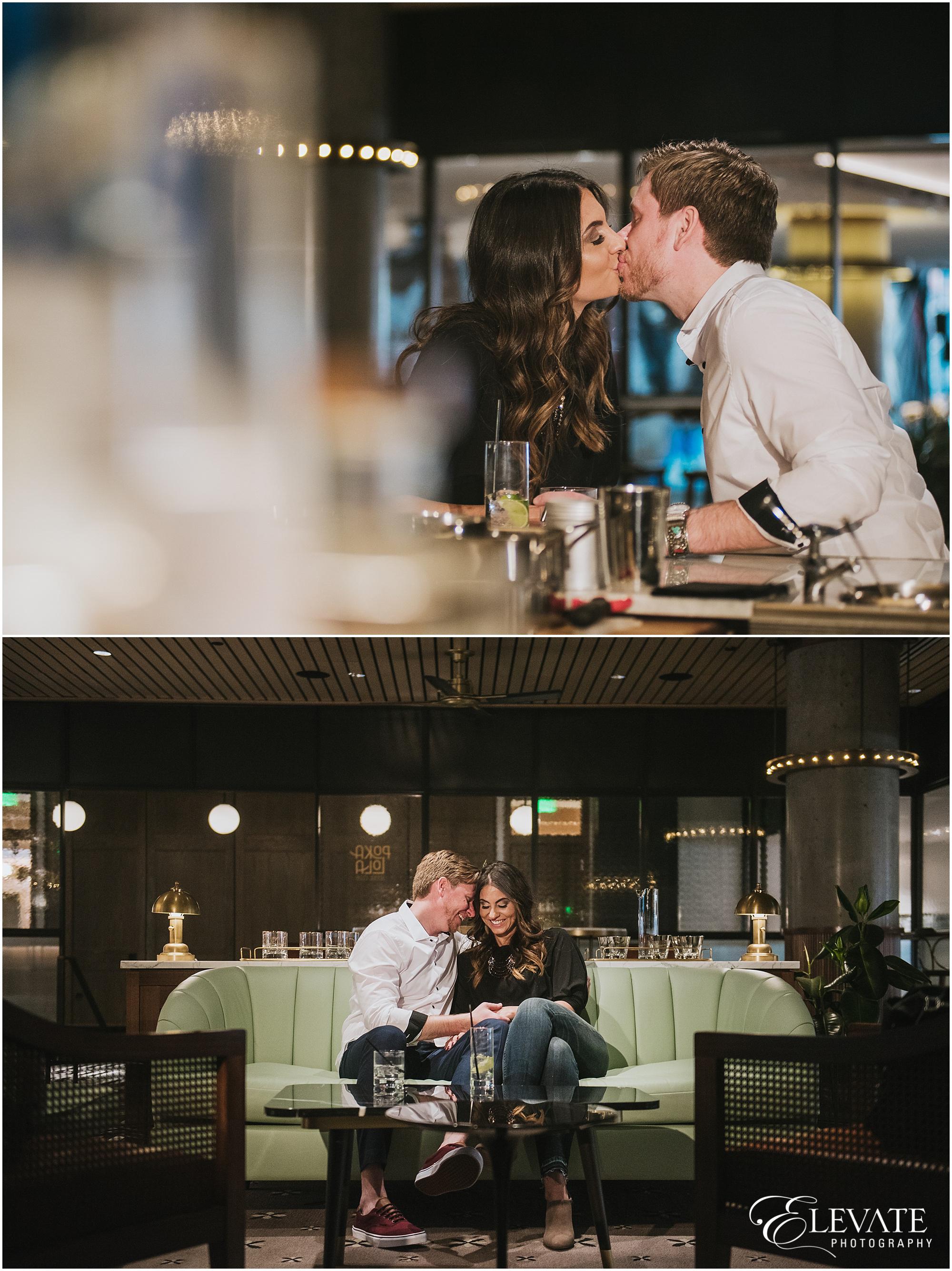 Jenn + Ryan   The Maven Hotel + Downtown Denver Engagement