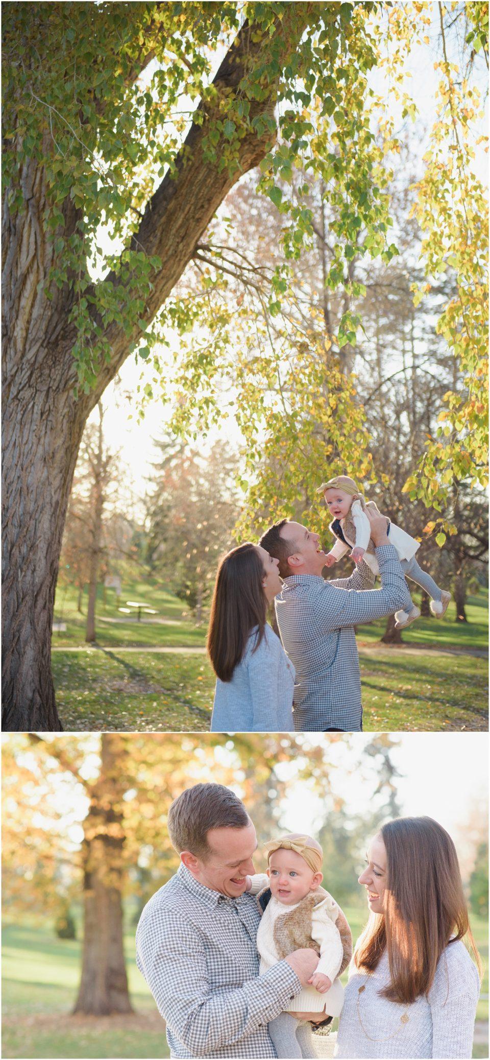Wash Park Fall Family Photos