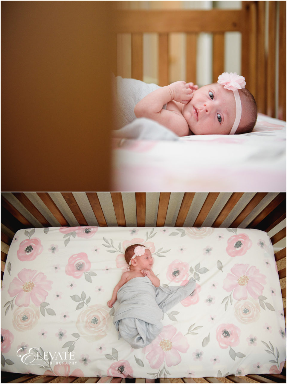 Girly In-Home Maternity Photos