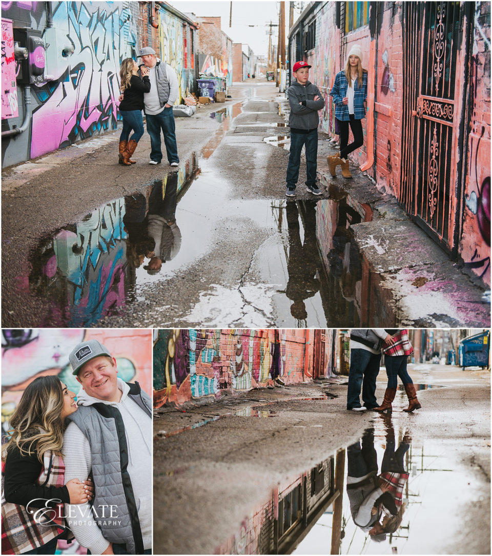 RiNo District Engagement and Family Photos