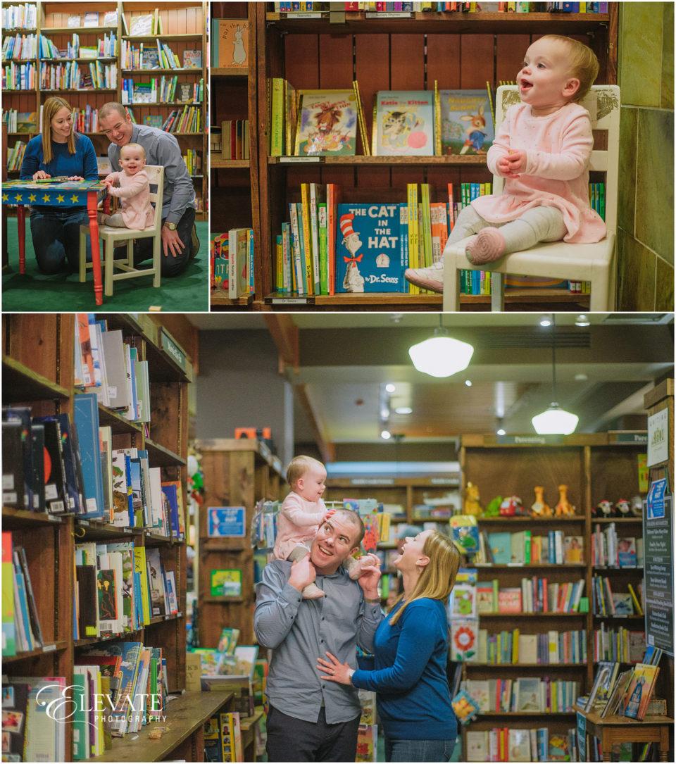 Tattered Cover Littleton Family Photos