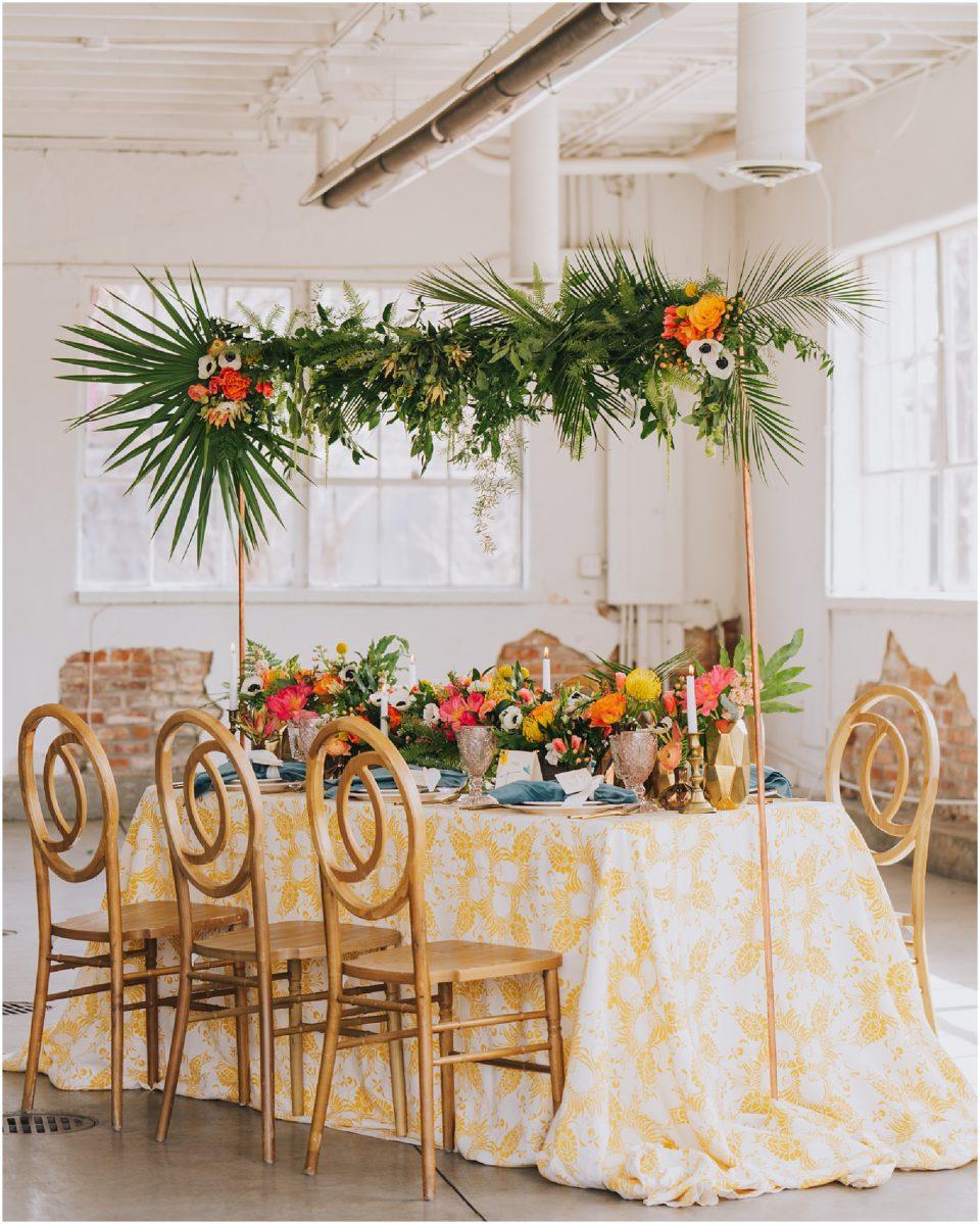 cuban themed wedding details